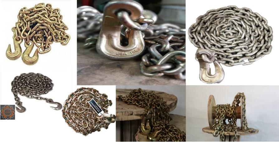 زنجیر سر کج
