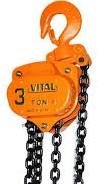جرثقیل دستی ویتال 3 تن مدل VP5