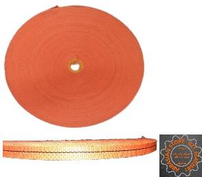 تسمه تک لا عرض 2/5 سانتی متر (نارنجی )