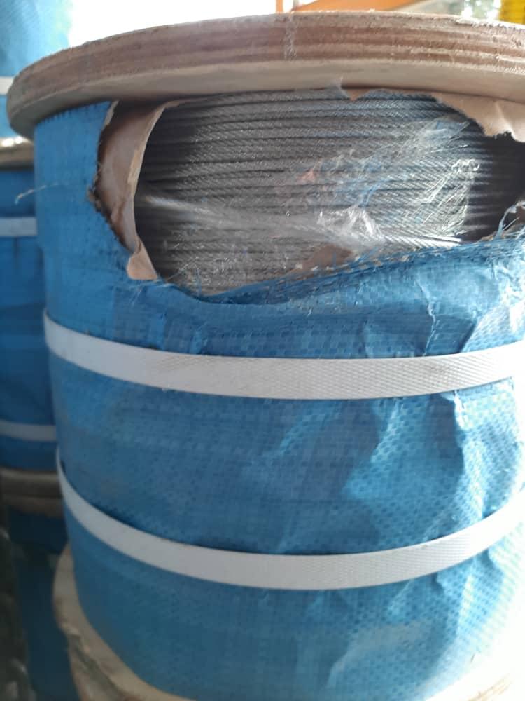سیم بکسل فولادی 7*7 سایز 3