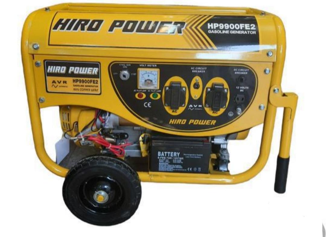 موتور برق هیرو پاور استارتی چرخدار