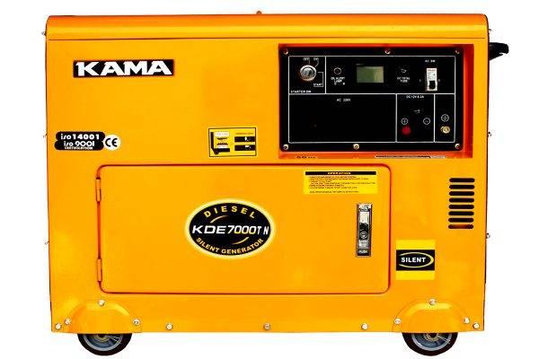 موتوربرق گازوییلی کاما 7000سایلنت
