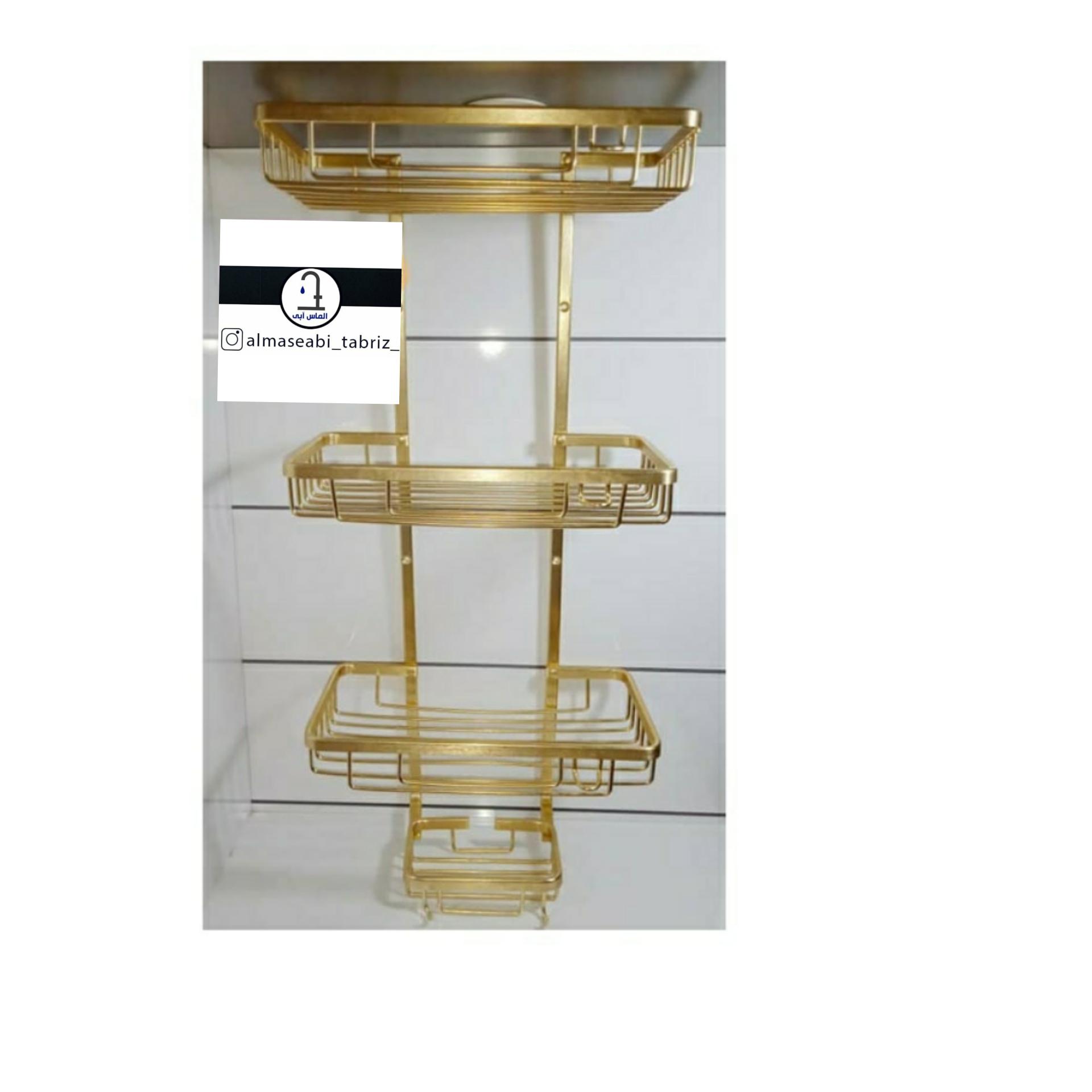 قفسه حمام مدل گوشه