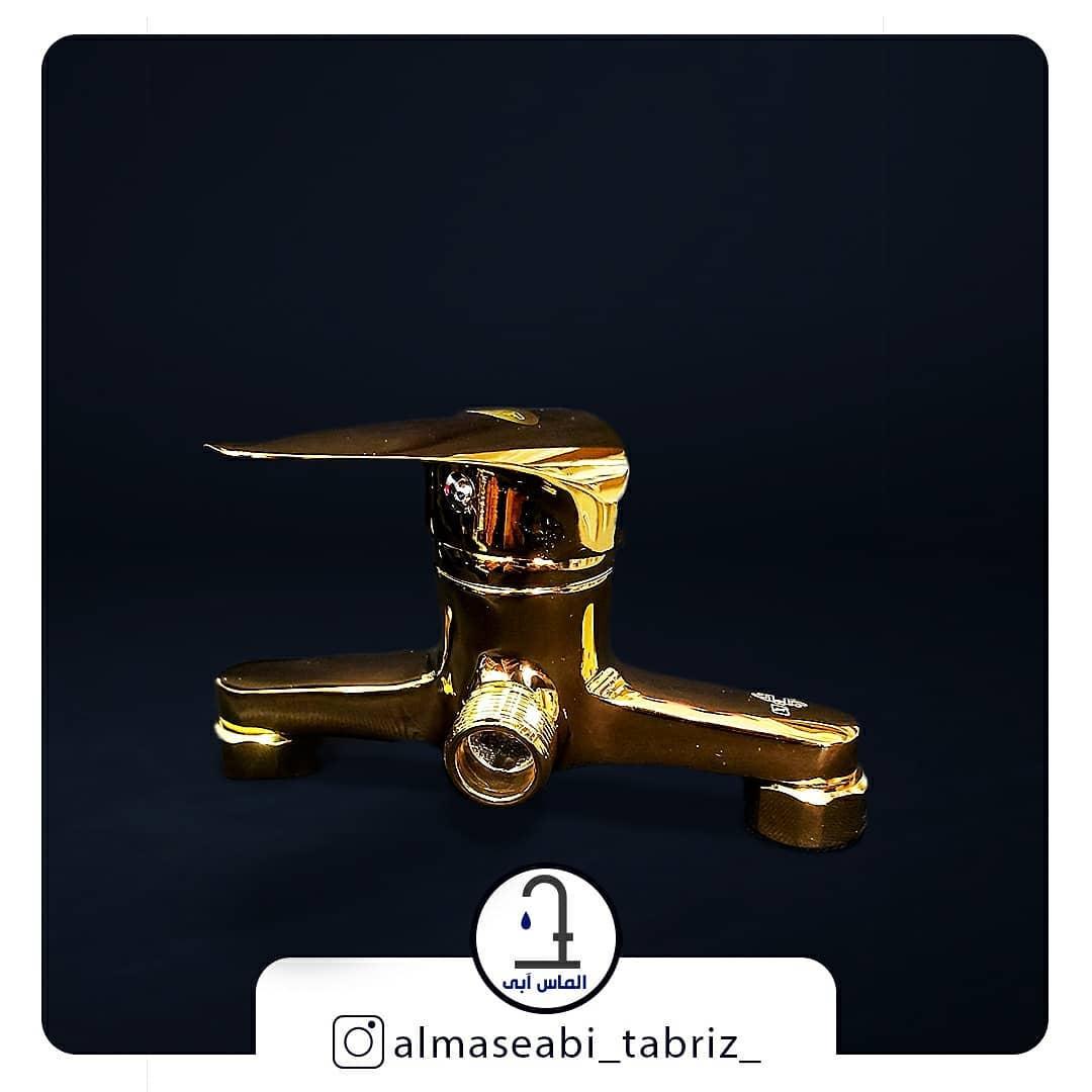 شیر توالت طلایی برلیان مدل ارس