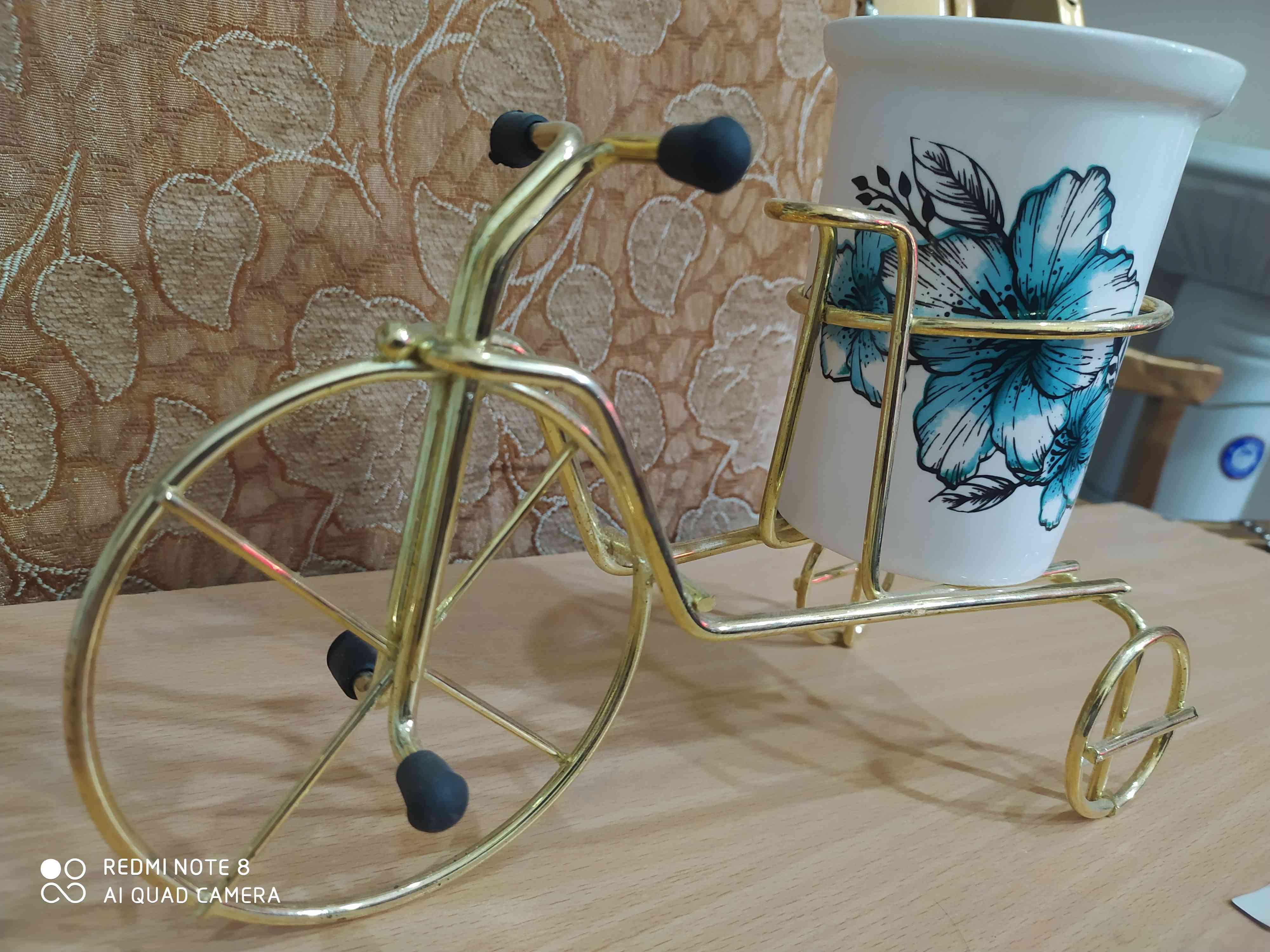 جا قاشقی مدل دوچرخه و گلدان مدل دوچرخه