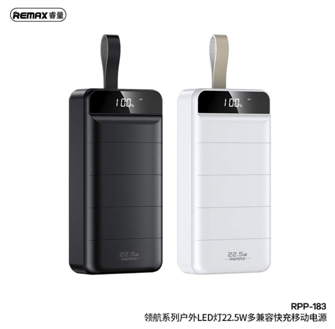 پاوربانک ریمکسمدل RPP_183  30000mah 22.5w فست شارژ