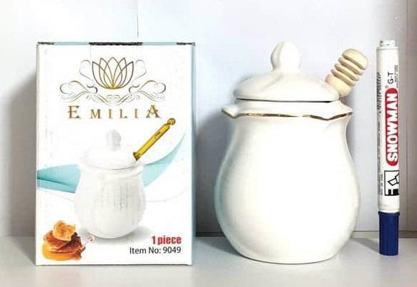 ظرف عسل سراميكی امیلیا