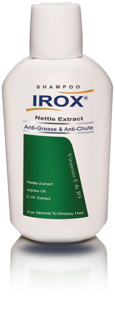 شامپو گزنه ضد ریزش موهای چرب تا معمولی ایروکس