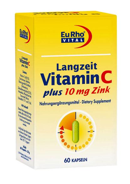 کپسول ویتامین C +زینک ( ۱۰ mg)