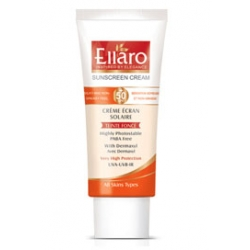 کرم ضد آفتاب مناسب انواع پوستها با spf 50(بژ طبیعی) الارو
