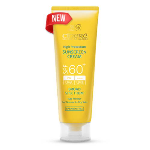 کرم ضد آفتاب +SPF60 بدون رنگ