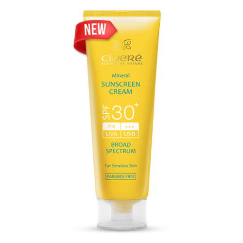 کرم ضد آفتاب +SPF30 بدون رنگ سینره