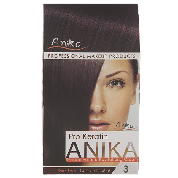 رنگ مو کراتینه آنیکا شماره4