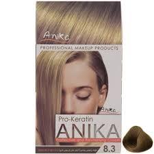 رنگ مو کراتینه آنیکا شماره 8.3