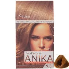 رنگ مو کراتینه آنیکا شماره 9.5