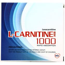 ویال خوراکی ال کارنیتین بی اس کی 1000
