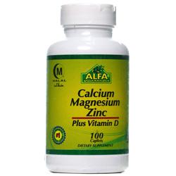 کلسیم  منیزیم  زینک  ویتامین D آلفا