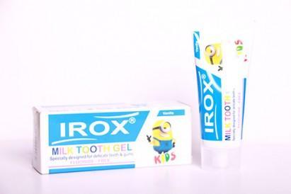 ژل دندان شیری ایروکس