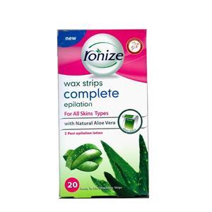 نوار موبر بدن رونیز مدل Aloe Vera بسته 20 عددی