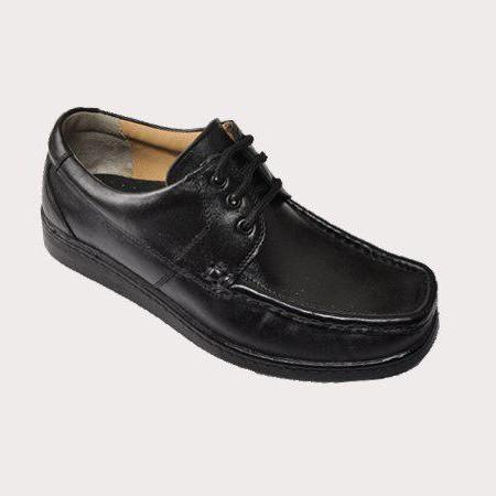کفش طبی مردانه تمام چرم - کد1001