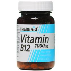قرص ویتامین ب12 1000 میکروگرم هلث اید