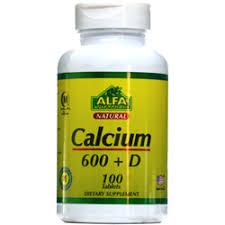 قرص کلسیم 600 + ویتامین D آلفا