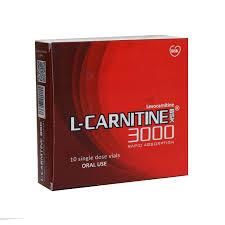 ویال خوراکی ال کارنیتین بی اس کی 3000