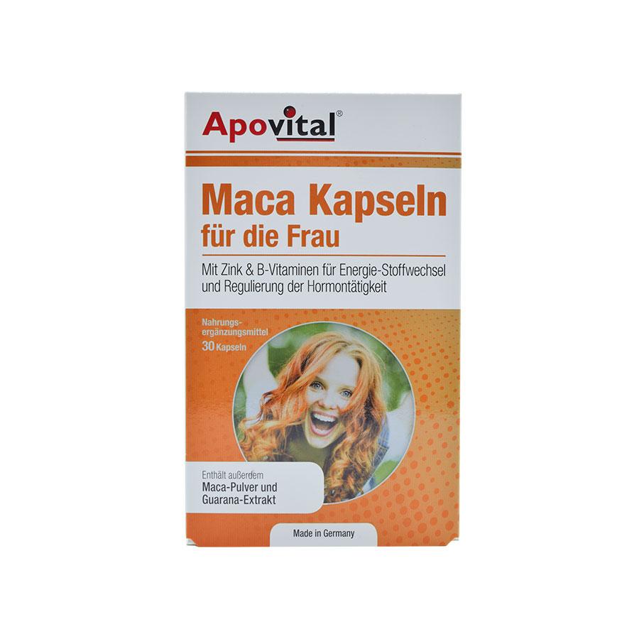 کپسول ماکا آپوویتال (مخصوص خانم ها) 30 عددی