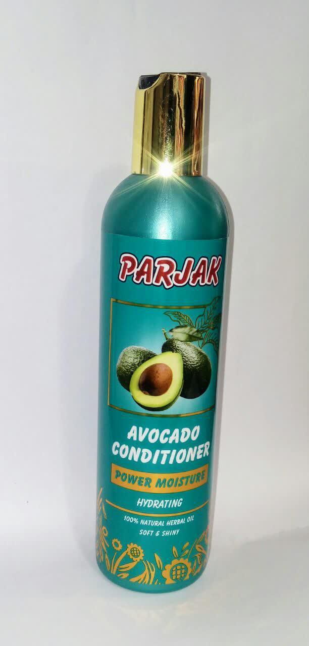 نرم کننده و تغذیه کننده مو پرژک (مناسب موهای خشک و دکلره شده )حاوی روغن آووکادو و شی باتر