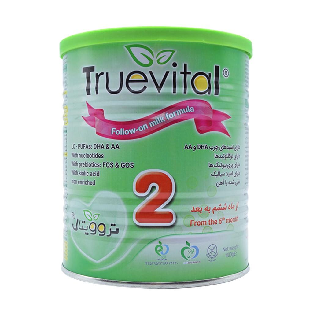 شیر خشک تروویتال 2 مناسب شیرخواران از 6 تا 12 ماهگی