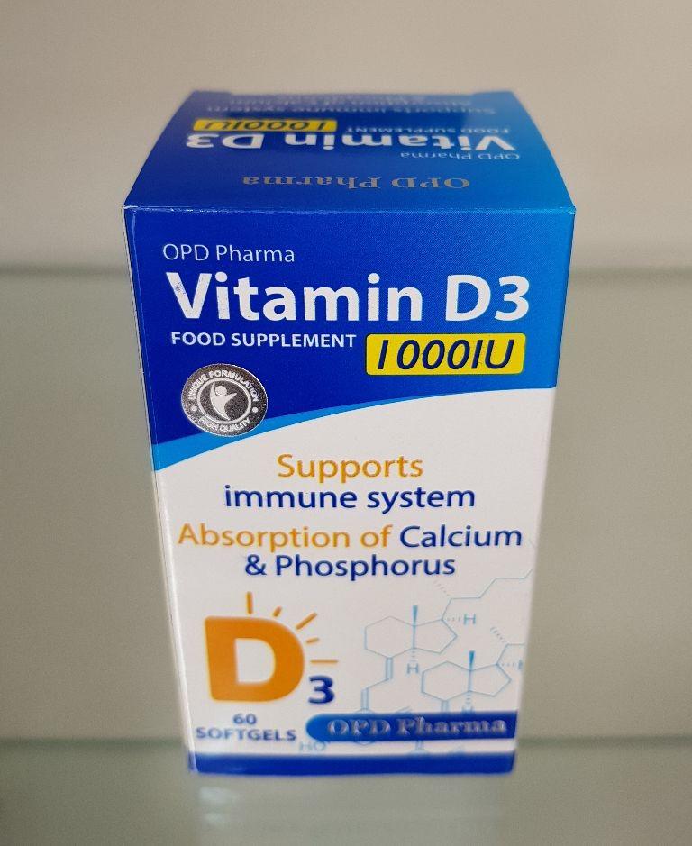کپسول ژلاتینی ویتامین د3