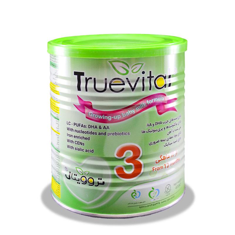 شیر خشک تروویتال 3 مناسب شیرخواران از 12 ماهگی
