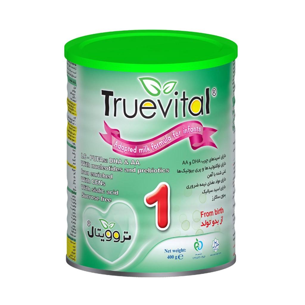 شیر خشک تروویتال 1 مناسب شیرخواران از بدو تولد