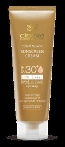 ضد آفتاب SPF30 سینره بژ روشن