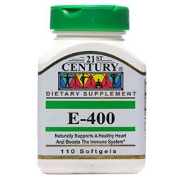 سافت ژل ویتامین ای 400 واحد 110 عددی 21 سنتری