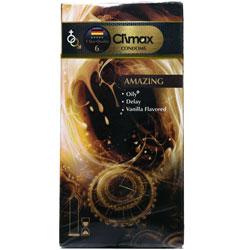 کاندوم تاخیری روغنی با اسانس وانیل کلایمکس