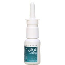 اسپری بینی گیاهی آلرگل گل دارو