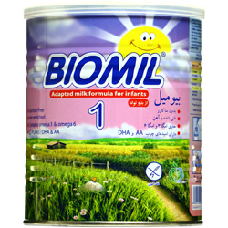 پودر بیومیل شیر خشک 1 فاسکا