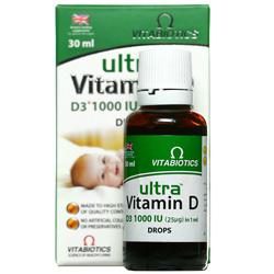 قطره اولترا ویتامین دی ویتابیوتیکس