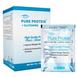 ساشه پیور پروتئین و گلوتامین  10 عددی کارن