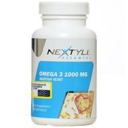 سافت ژل امگا 3 نکستایل ویتامینز 1000 میلی گرمی