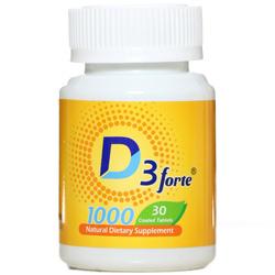 قرص ویتامین د3 فورت 1000 واحد هولیستیکا