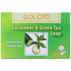 صابون خیار و چای سبز گل سیتو