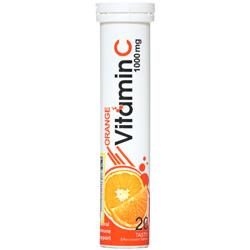 قرص جوشان ویتامین ث 1000 میلی گرمی دنیا دارو