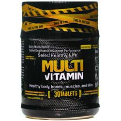 قرص مولتی ویتامین 30 عددی ژن استار