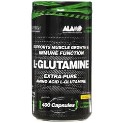 کپسول ال گلوتامین 400 عددی آلامو