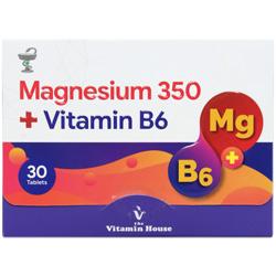 قرص منیزیم 350 و ویتامین ب6 ویتامین هاوس