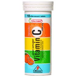 قرص جوشان ویتامین ث 1000 میلی گرم هلثی مین