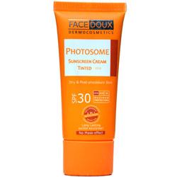 کرم ضد آفتاب رنگی فوتوزوم SPF 30 فیس دوکس
