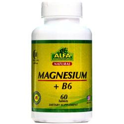 قرص منیزیم ویتامین ب 6 آلفا ویتامین